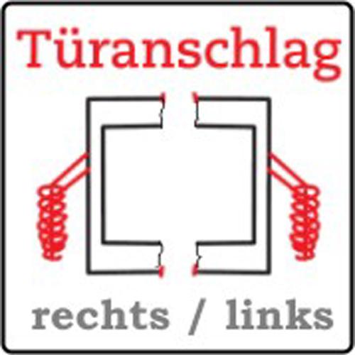 Brunner Türanschlag links und rechts